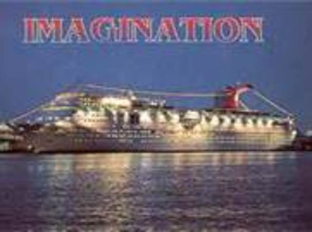 """Went on a Carribean Cruise on the Carnival Cruise Ship """"Imagination"""" with my parents and grandparents"""