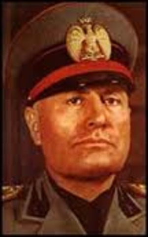 Benito Mussolini appointed prime minister of Italy.