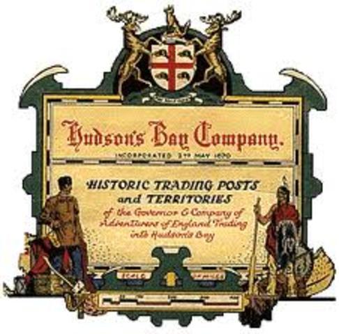 La Companie HBC Donne Ruperts Land au Gouvernement Canadienne