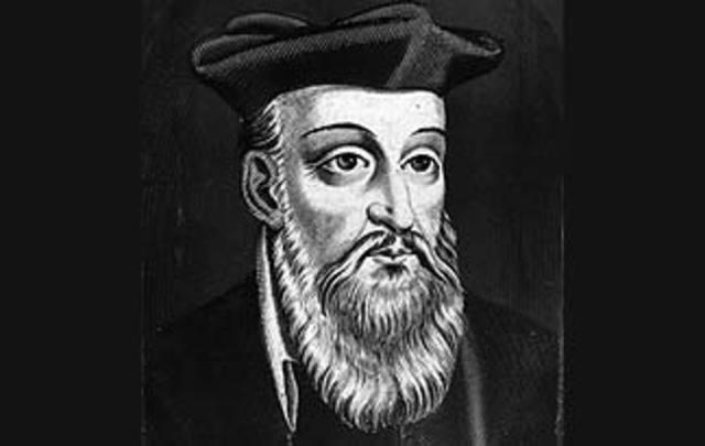 Astrologer Nostradamus's Birthday