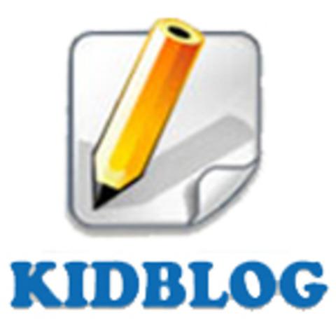 Grade 2-6 Students set up for Kidblog