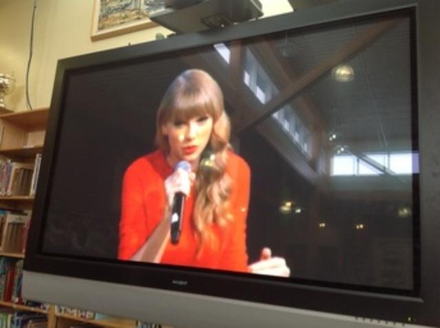 Taylor Swift Webcast