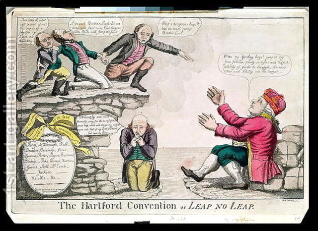 Hartford Convention meets during War of 1812