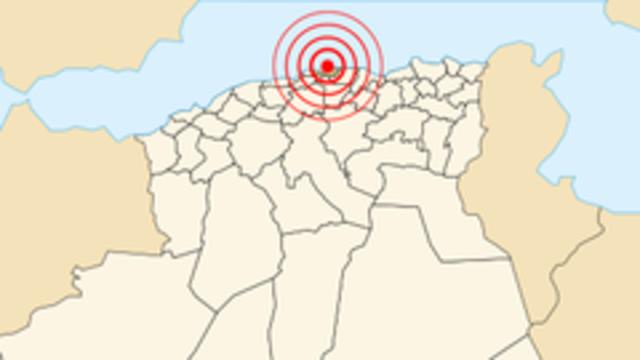 Boumerdès earthquake