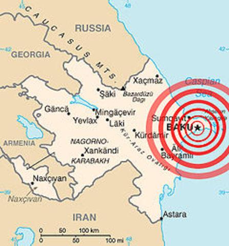 Baku earthquake