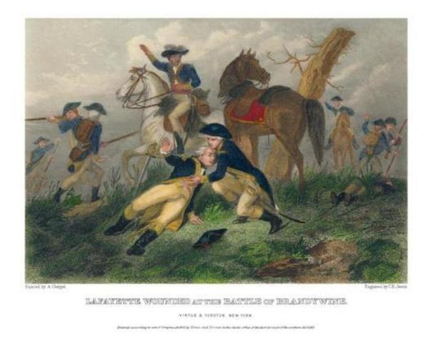 Wounded at Brandywine