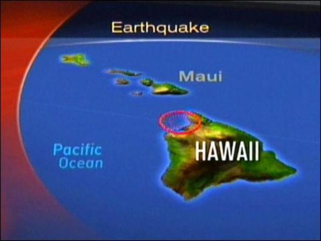 Waves From Canada Earthquake Hit Hawaii