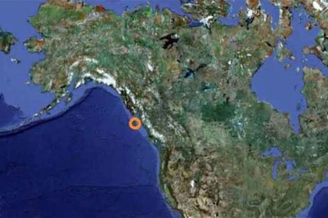 Haida Gwaii (formerly Queen Charlotte Islands), on the west coast of Canada