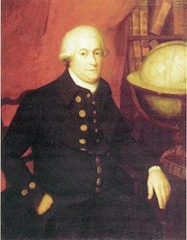 Le captaine George Vancouver entre dans l'ansée Burrard