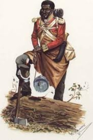 La milice noire sa bat pendant la guerre de 1812