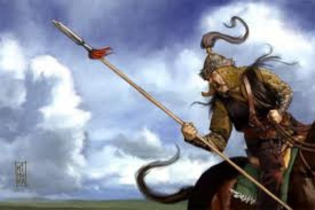 Genghis Khan died