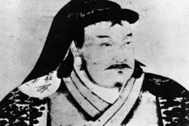 Kublai Khan starts conquest of China