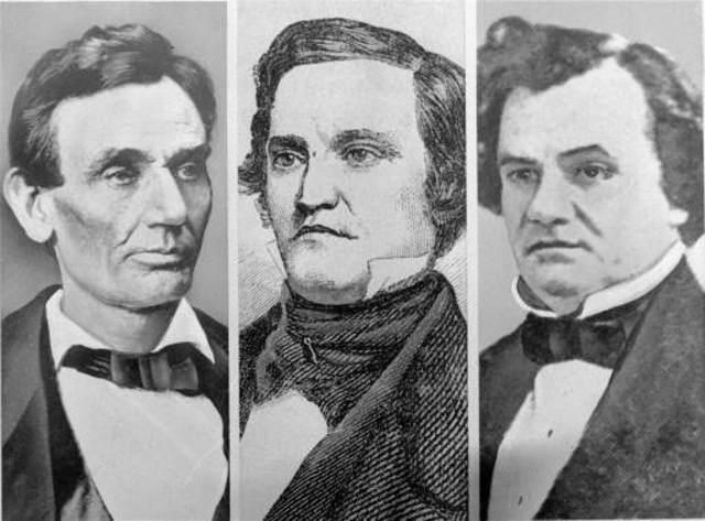 Democrats split 1860