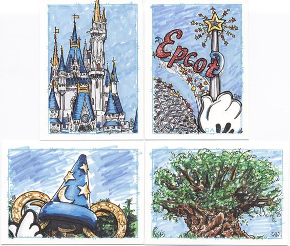 The Imagination Towards Disneyworld