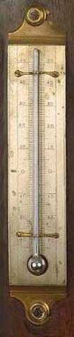 The Thermometer was invented