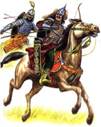 Nomadic Mongols emerge