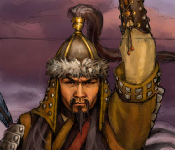 Temujin took the title Genghis Khan
