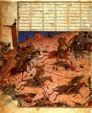 The Mongols were defeated