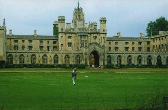 Enrolls in Cambridge University  (Trinity College)