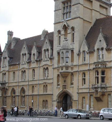 Adam Smith attends Oxford Univerisity