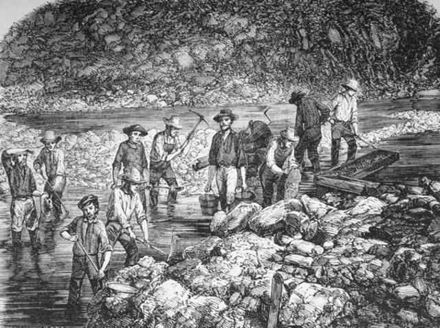 Gold Found In California Start Gold Rush