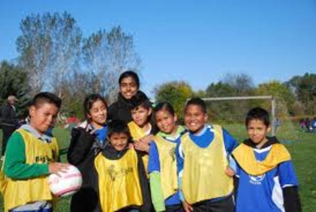 Started Volunteering for Millennium Soccer Club