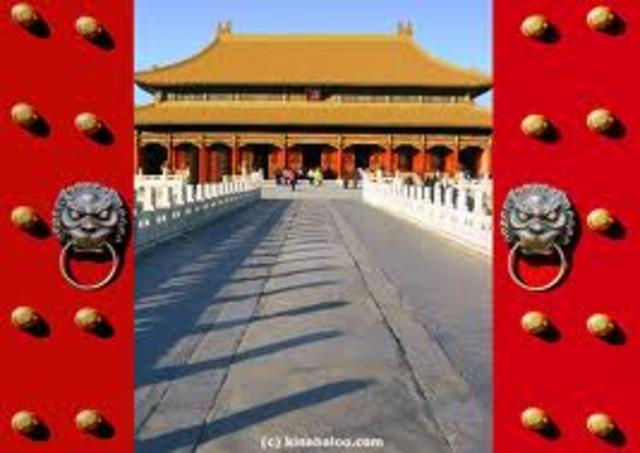 Forbidden city built