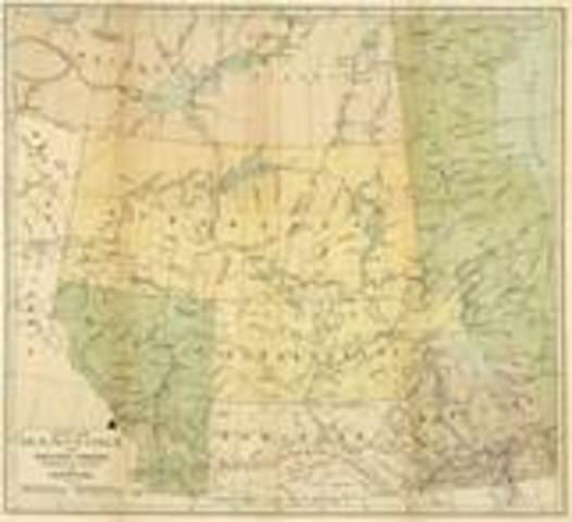 Manitoba et les Territoires Nord Ouest Join Le Canada
