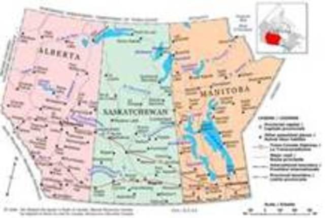l'Alberta et le Saskatchewan