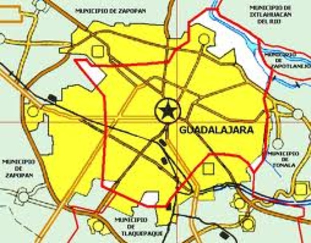 Llegada a Guadalara.