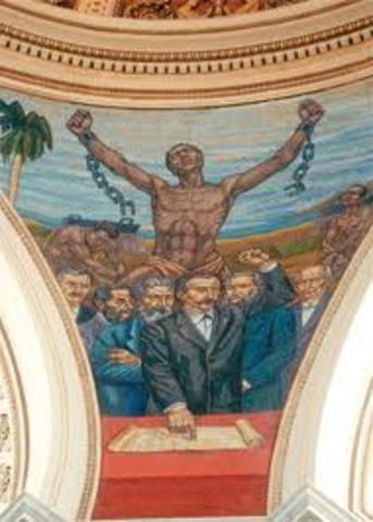 Abolición de la esclavitud.