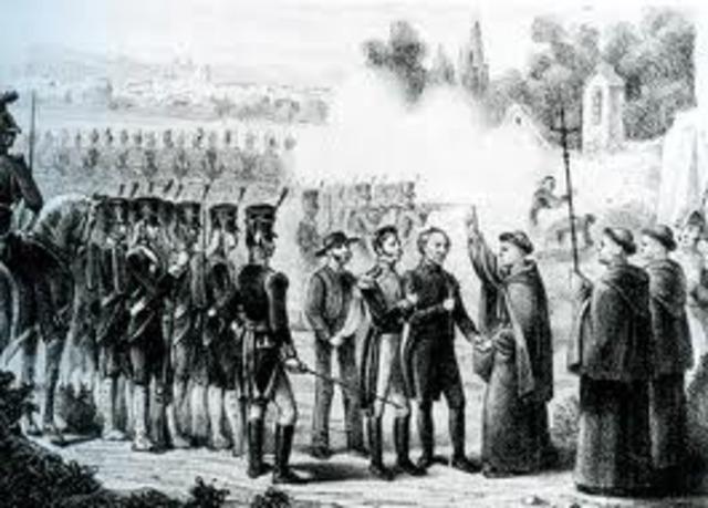 Hidalgo y Allende presos.