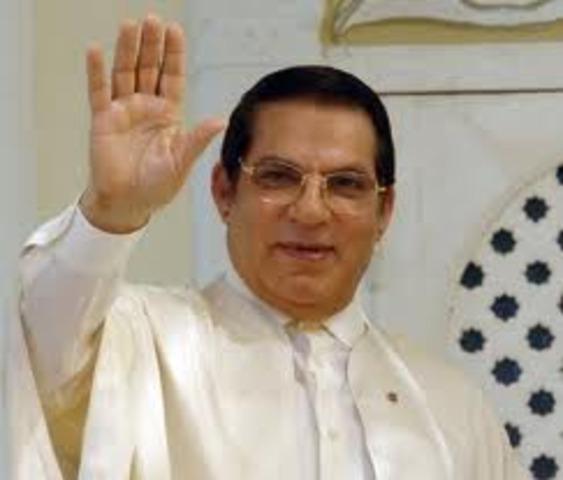 Prisedent of Tunisia Toppled