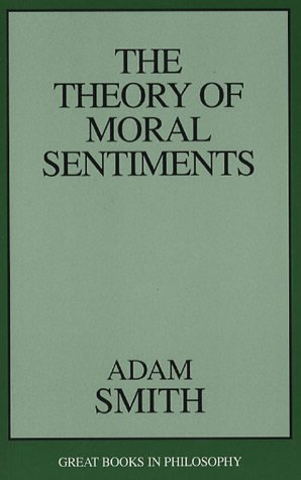 """Smith writes """"The Theory of Moral Sentiments"""""""