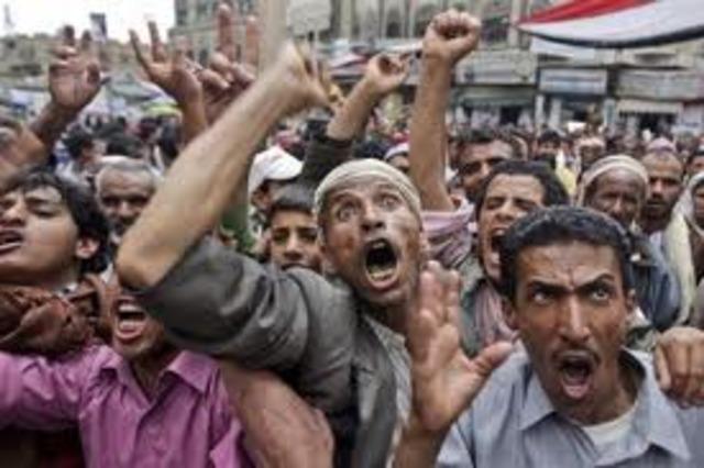 Mass Protests begin in Yemen