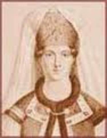 Ivan IV's mother Elena Glinskaya dies.