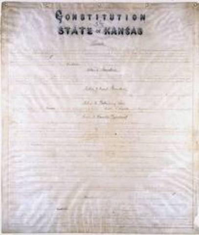 Lecompton Constitution Passed