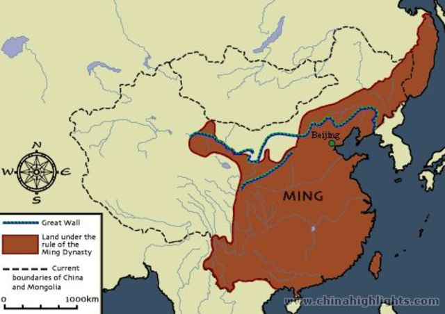 Ming Dynasty Takes Over China