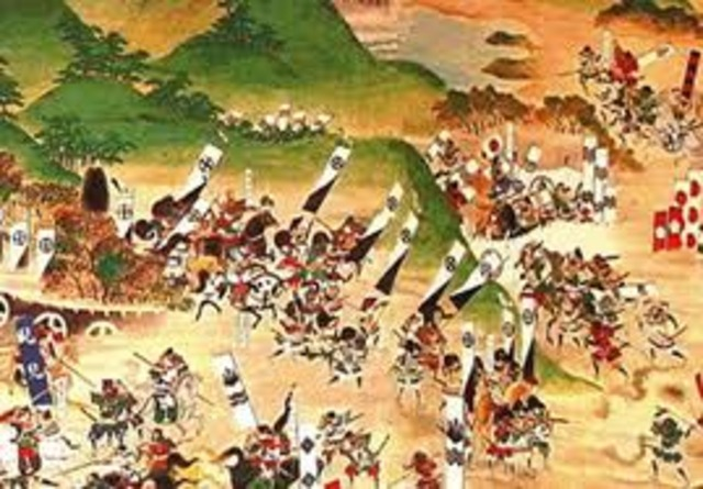 Japanese civil war of the 1500's