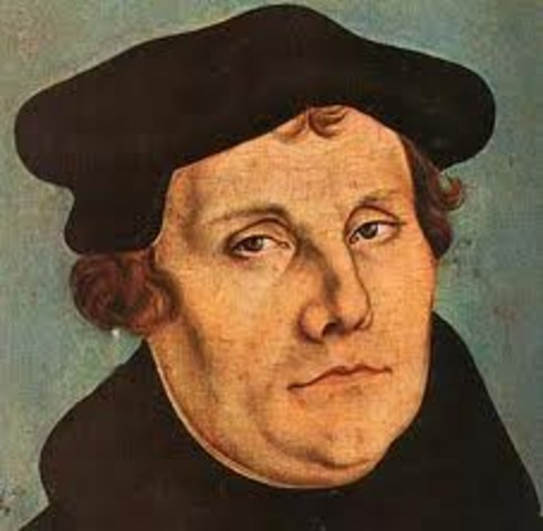Martin Luther reformation to Protestantism.