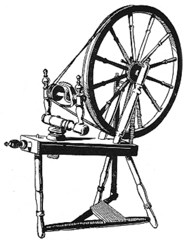First Spinning Machine in England