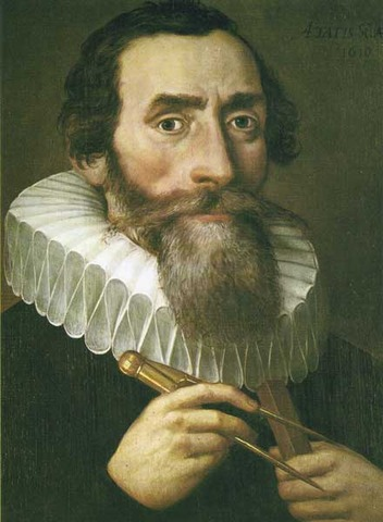 Johannes Kepler discovers first law of planetary motion.