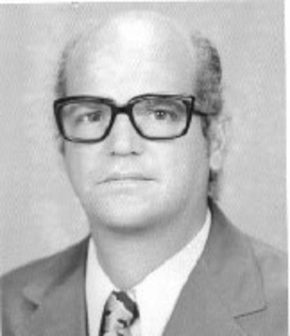 até 1968;    Evaldo Rangel