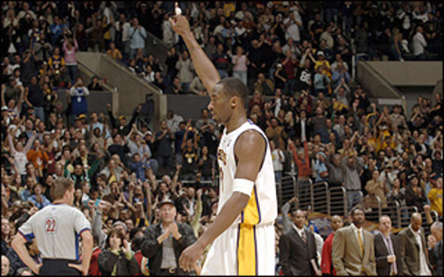 Kobe 81 Points on the Toronto Raptors