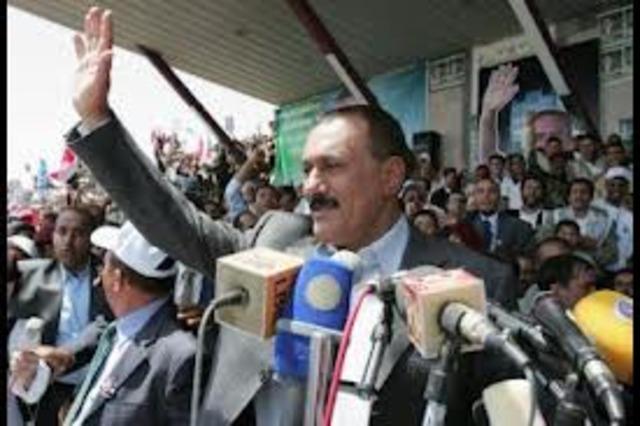 Yemen President Saleh Leaves Country