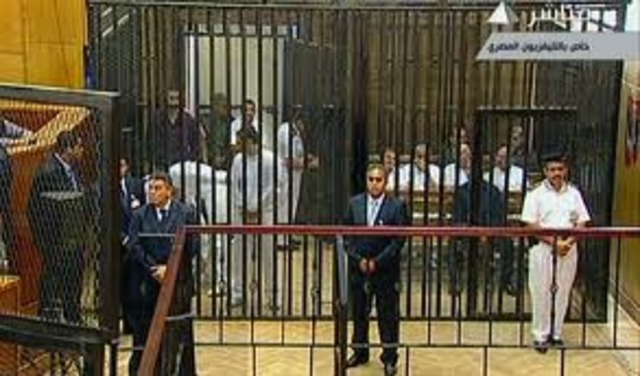Mubarak is put on Trial