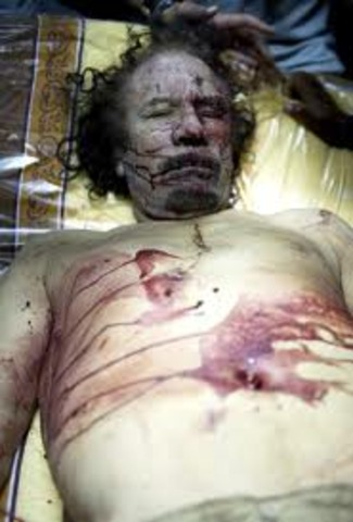 Gadhafi Killed