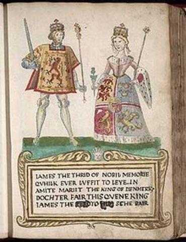 Margaret(tudor) marries James the 4th of Scotland