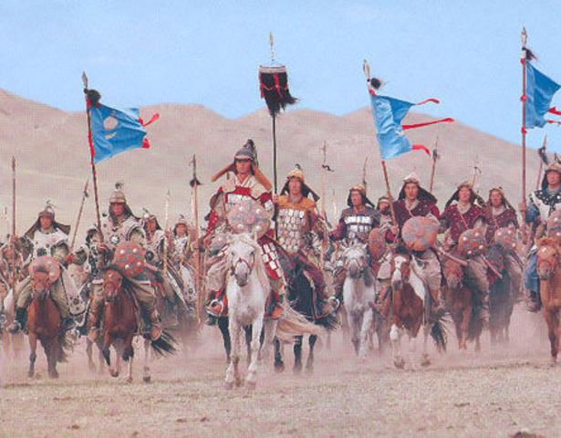 Genghis Khan Conqures Asia