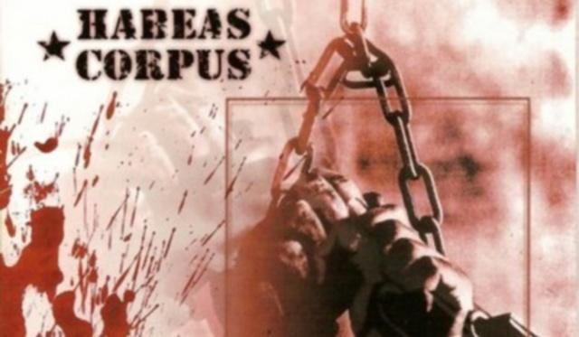 The Habeas Corpus Suspension Act